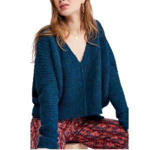 Free People Moonbeam Alpaca Blend Sweater Size Med
